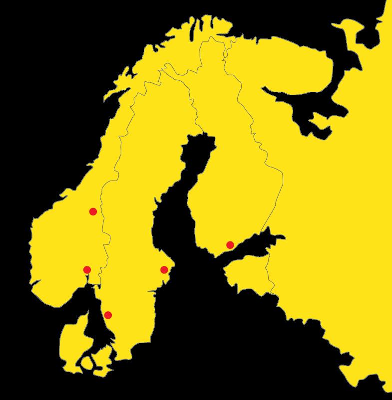 Levanto mining in the Nordics